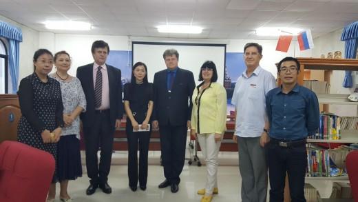 Завершение визита делегации института в Китай