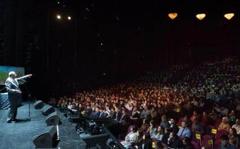 Встреча В.В.Жириновского со студентами в МДМ