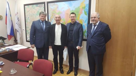 Встреча с Президентом Фонда «Славяне»