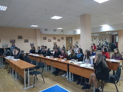 Визит в ИМЦ учащихся из Вологодской области