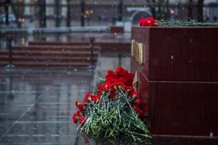 Памяти жертв теракта в Санкт-Петербурге