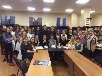 Визит в ИМЦ учащихся из г.Череповец