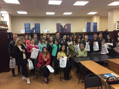 Визит в ИМЦ учащихся из Рязани