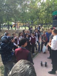 Выступление  Школы силового многоборья в ПКиО Кузьминки