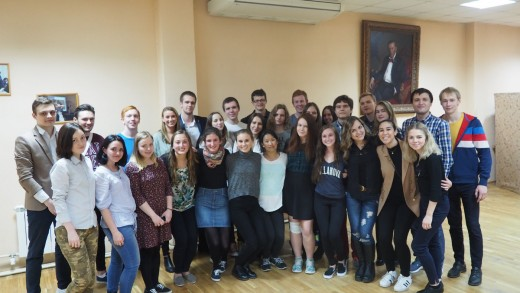 Встреча со студентами из Университета Вилланова (США)